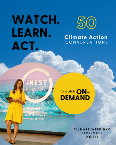 Fifty Climate Action Conversations at The Nest Summit